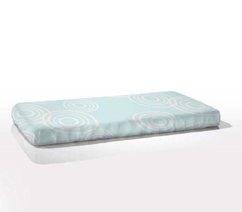 Nook Sleep Fitted Crib Sheet Puddle In Glass