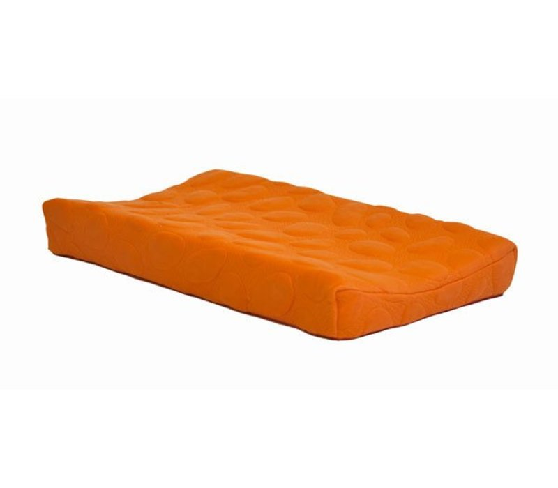 Nook Sleep Organic Pebble Changing Pad In Poppy