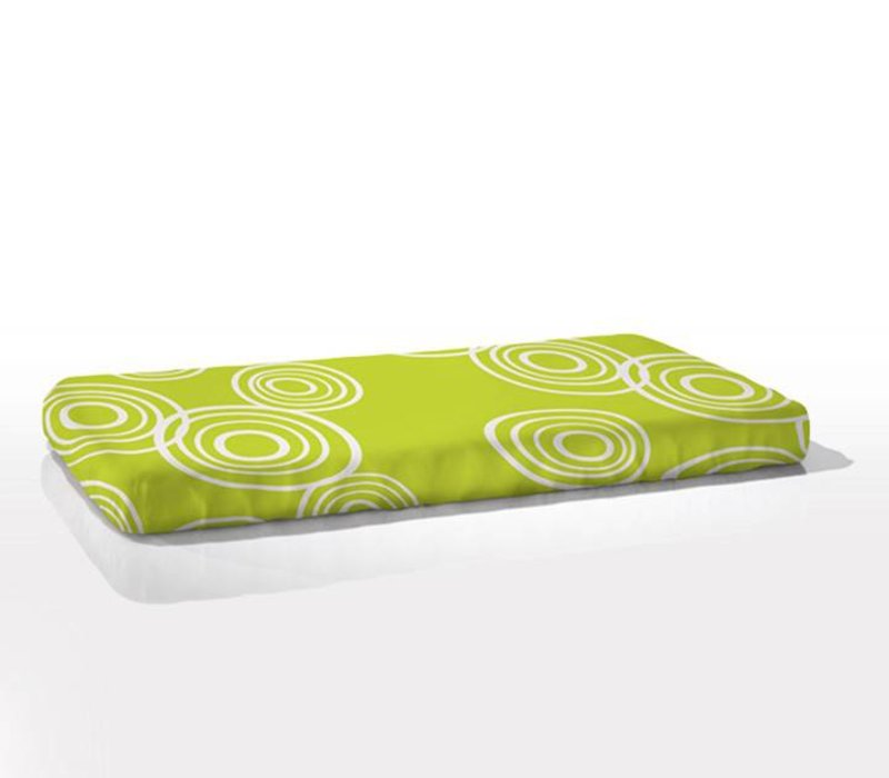 Nook Sleep Fitted Crib Sheet Puddle In Lawn