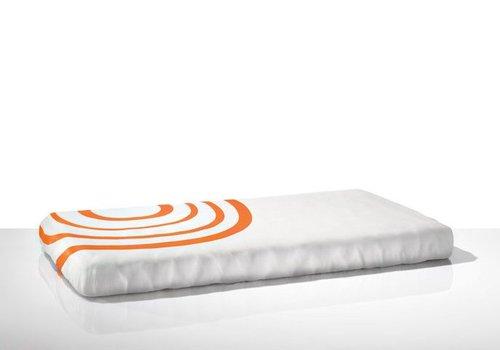 Nook Sleep Nook Sleep Fitted Crib Sheet Ripple In Poppy
