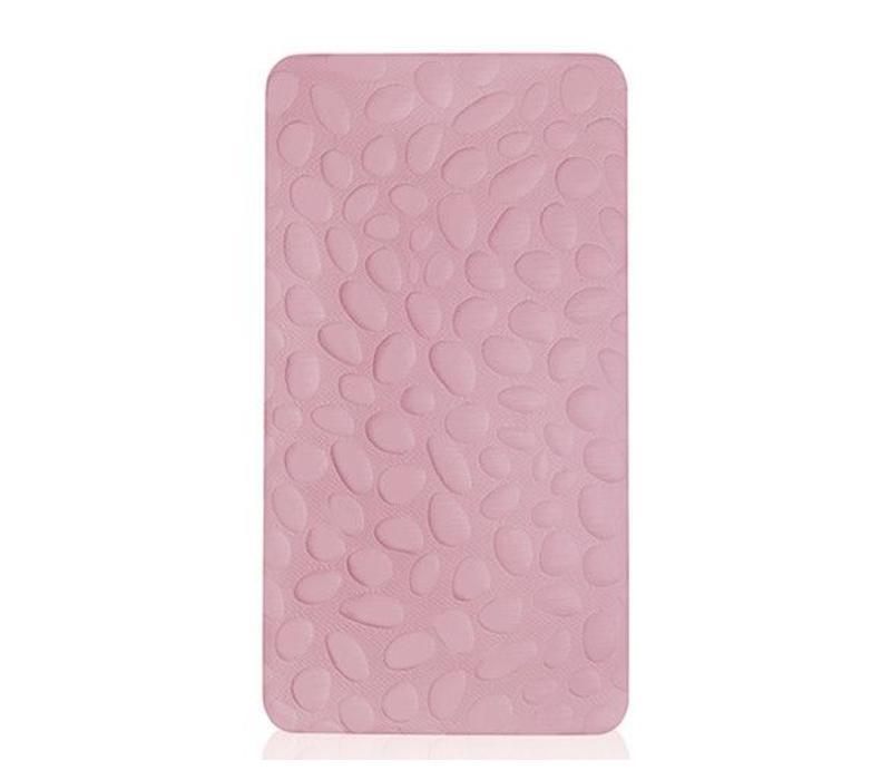 Nook Sleep Pebble Lite Crib Mattress In Blush (Non-Toxic Foam)- 2 Stage