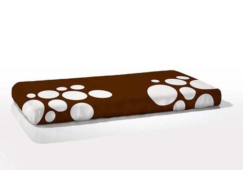 Nook Sleep Nook Sleep Fitted Crib Sheet Stepping Stone In Bark