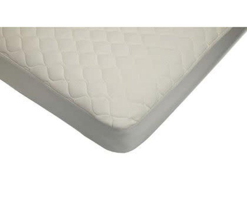 American Baby Organic Waterproof Quilt Crib-TD Mat. Cover