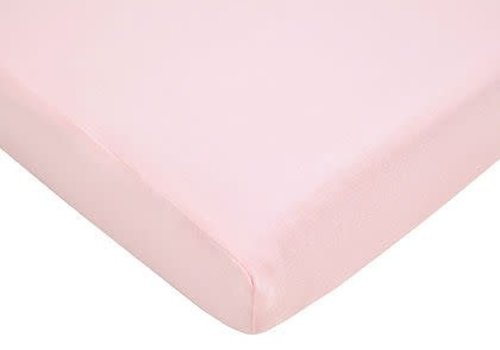American Baby American Baby Knit Cradle Sheet In Pink
