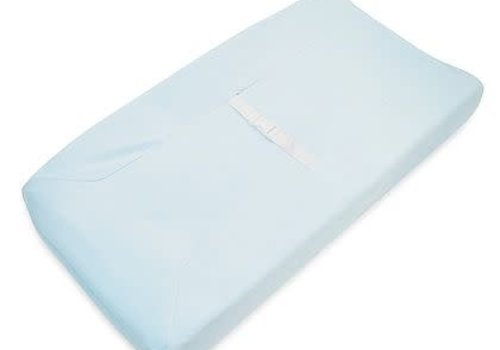 American Baby American Baby Changing Pad Cover In Blue