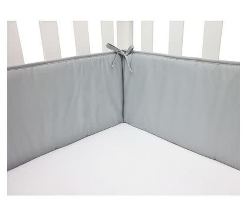 American Baby Crib Bumper In Grey