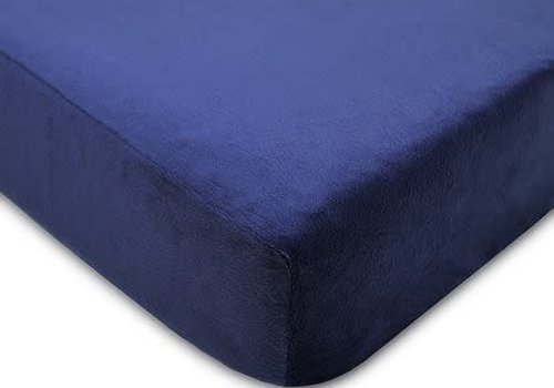 American Baby American Baby Changing Pad Cover In Navy