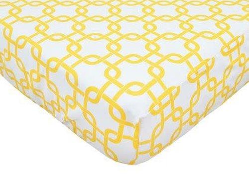 American Baby American Baby Percale Crib Sheet Golden Gotcha