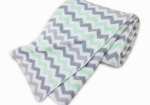American Baby American Baby 100% Cotton Sweater Blanket In CE-ZZ