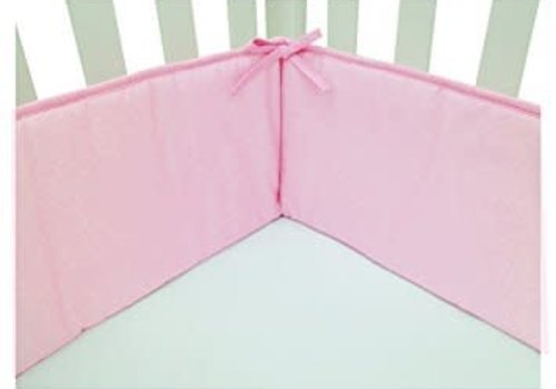 American Baby American Baby Crib Bumper In Pink