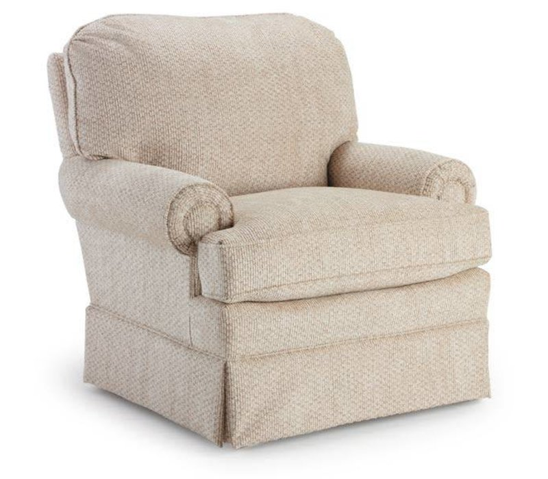 Best Chairs Story Time Braxton Swivel Glider- Custom Design Your Own Color