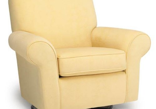 Best Chairs Best Chairs Story Time Mandy Swivel Glider- Custom Design Your Own Color