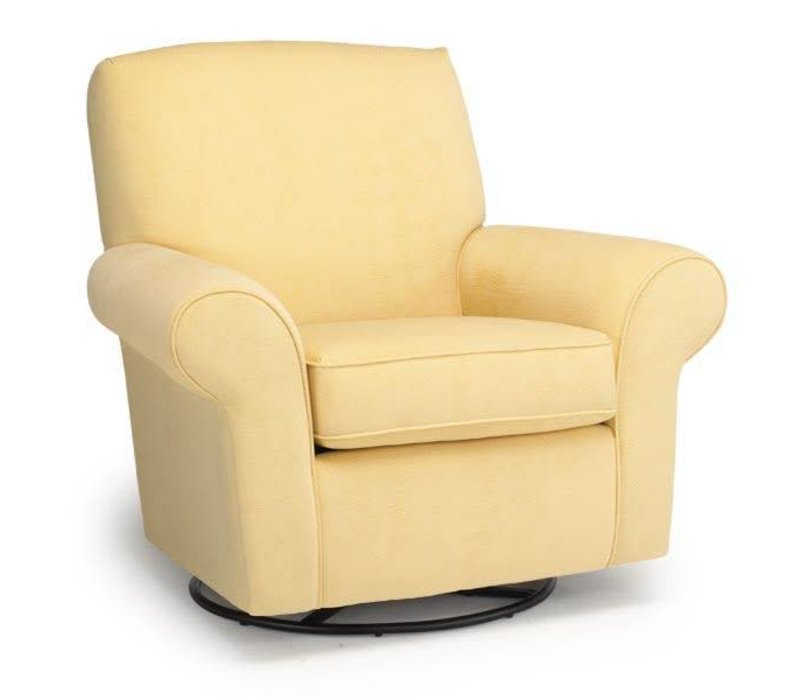 Best Chairs Story Time Mandy Swivel Glider- Custom Design Your Own Color