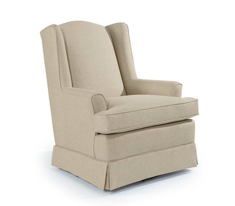 Best Chairs Story Time Natasha Swivel Glider- Custom Design Your Own Color