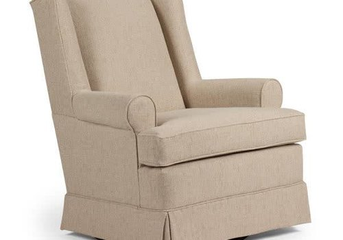 Best Chairs Best Chairs Story Time Roni Swivel Glider- Custom Design Your Own Color
