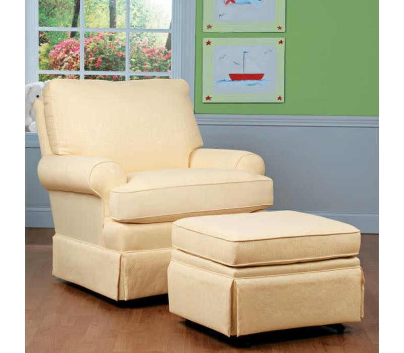Best Chairs Story Time Quinn Swivel Glider- Custom Design Your Own Color