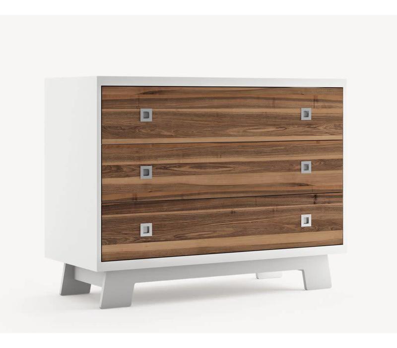 Dutailier Pomelo 3 Drawer Dresser- Custom Design Your Own Color