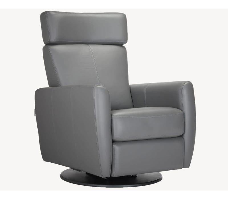 Dutailier Mendoza Glide, Recline, Swivel, With Footrest - Custom Design Your Own Color