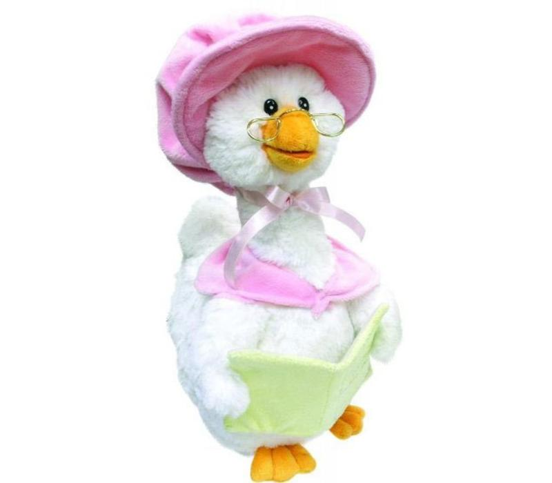 Cuddle Barn Animated Mother Goose In Pink