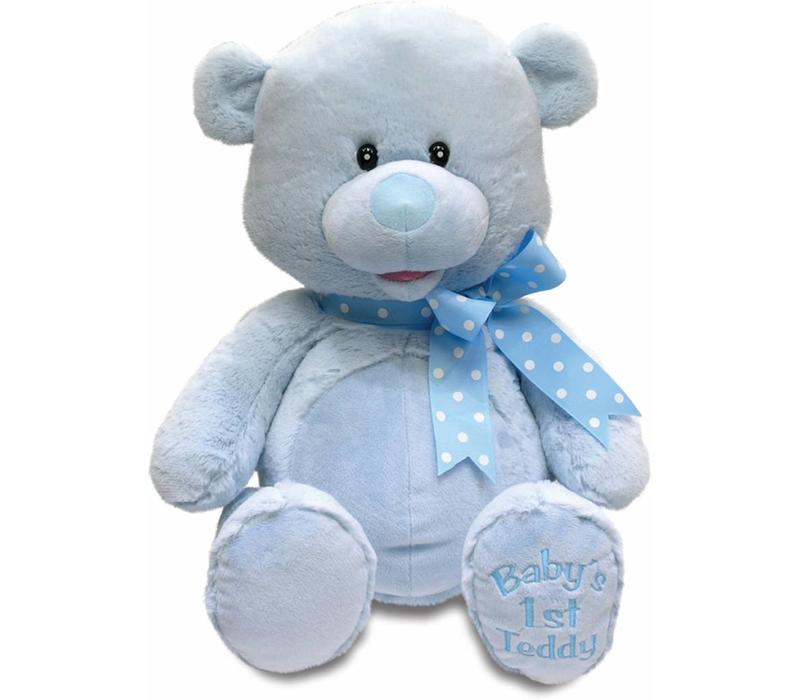 Cuddle Barn Animated MY First Singing Teddy -Blue