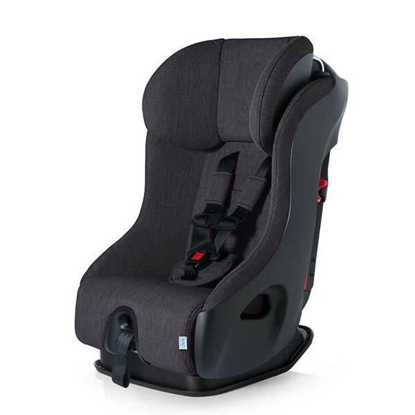 clek clek fllo crypton super fabric convertible car seat in slate. Black Bedroom Furniture Sets. Home Design Ideas