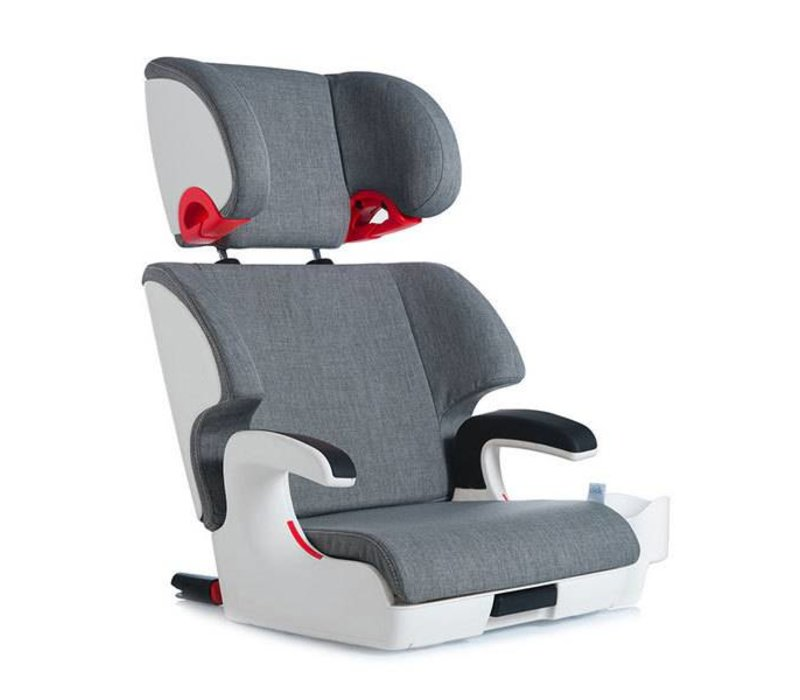 Clek Oobr Crypton Super Fabric Booster Seat In Cloud