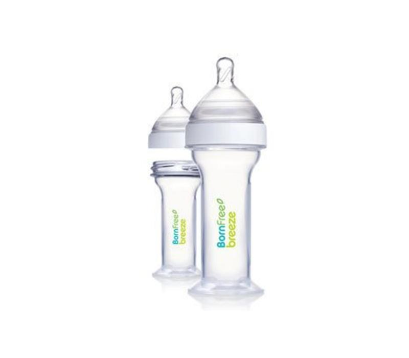 Born Free Breeze Preemie Bottles  (2 Pieces) 2 Ounces