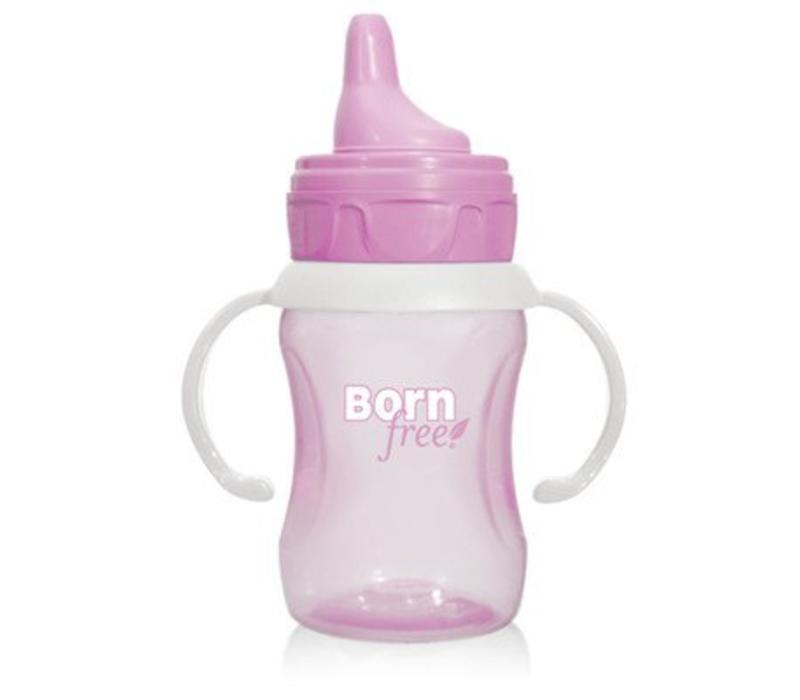 Born Free 7 Ounce Training Cup In Pink