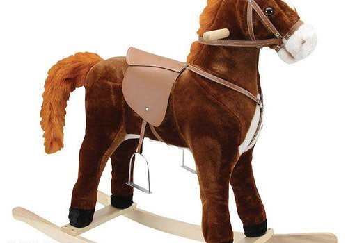Charm Charm Hercules Large Rocking Horse (Moving Mouth And Tail)
