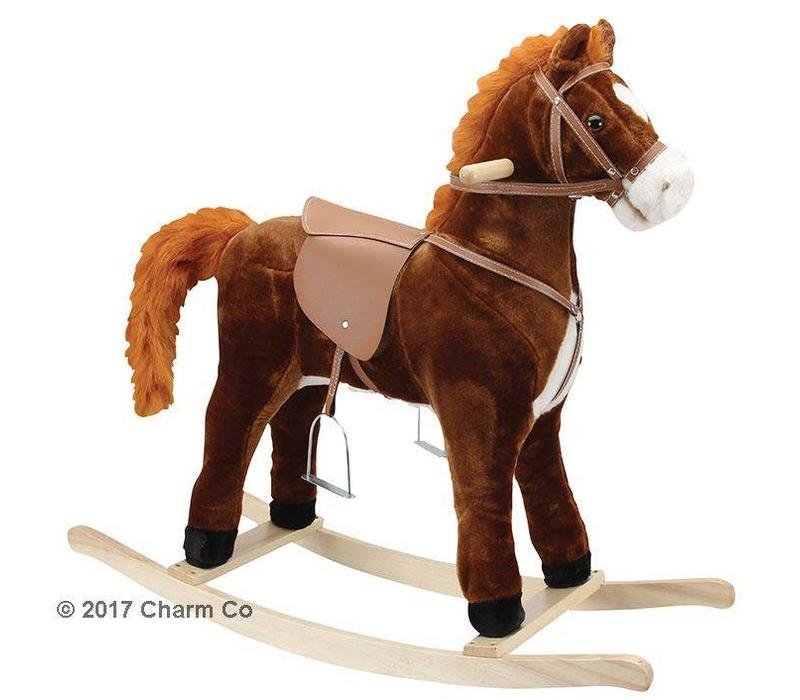 Charm Hercules Large Rocking Horse (Moving Mouth And Tail)