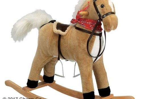 Charm Charm Buffy Rocking Horse (Moving Mouth And Tail)