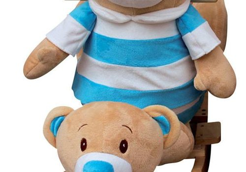 Charm Charm Teddy Bear  Rocker - Boy