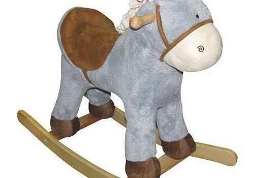 "Charm Charm ""Baby Blue"" Horse Rocker"