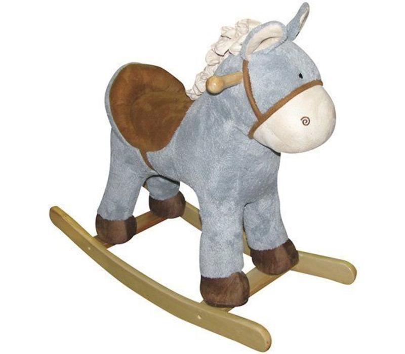 "Charm ""Baby Blue"" Horse Rocker"