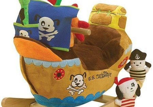 Charm Charm Pirate Ship Rocker