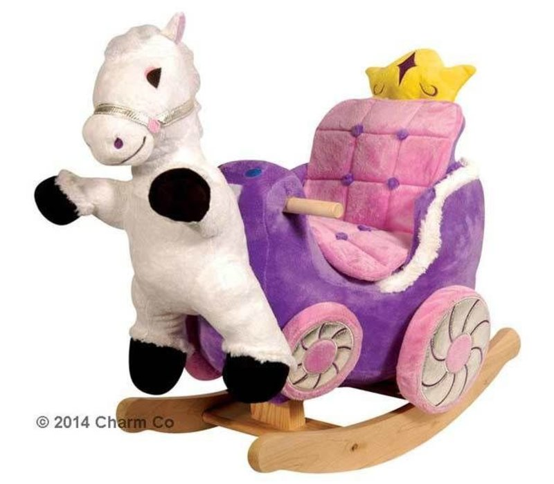 Charm Princess Carriage Rocker