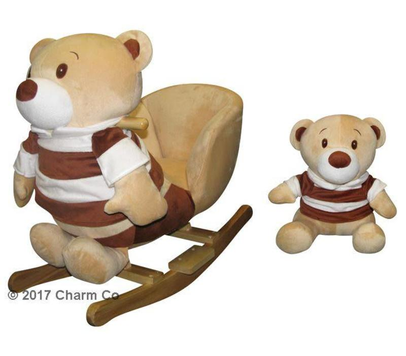Charm Buddy Bear And Pal Rocker
