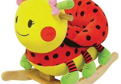 Charm Charm Lady Bug Rocker