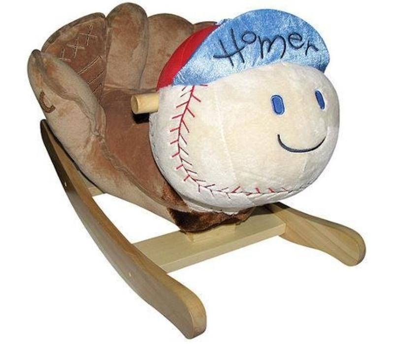 Charm Homer Baseball Rocker 15