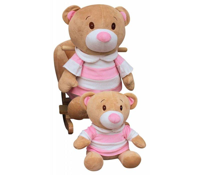 Charm Teddy Bear  Rocker - Girl