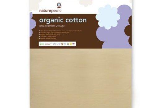Naturepedic Naturepedic Crib Mattress Organic Cotton Ultra 252 Coils Seamless 2-Stage