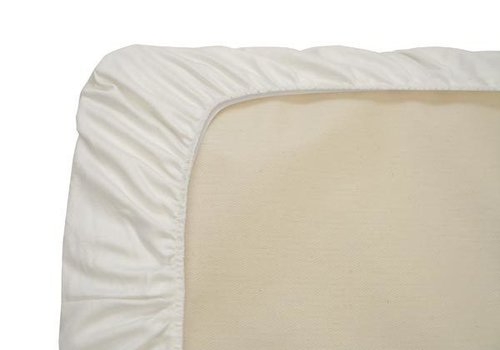 Naturepedic Naturepedic Organic Cotton White Crib Sheet (1 Pack)