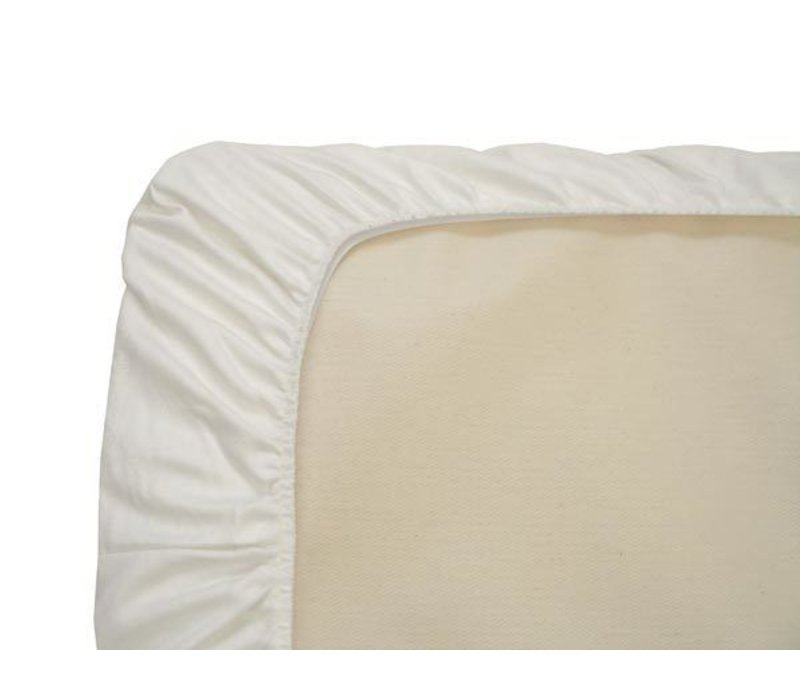 Naturepedic Organic Cotton White Crib Sheet (1 Pack)