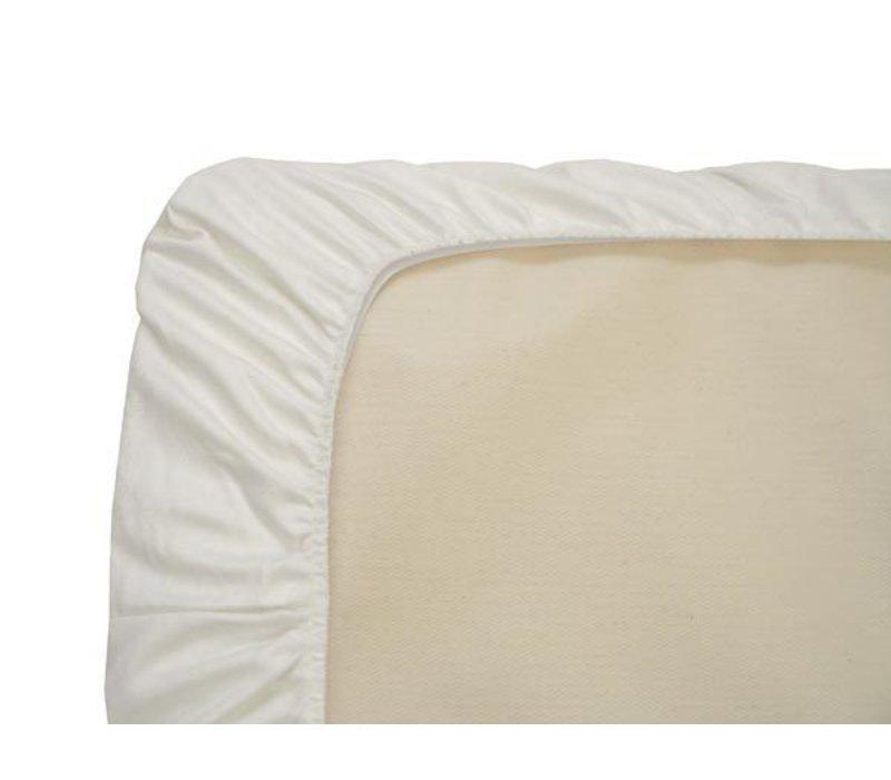Naturepedic Organic Cotton White Crib Sheet (3 Pack)