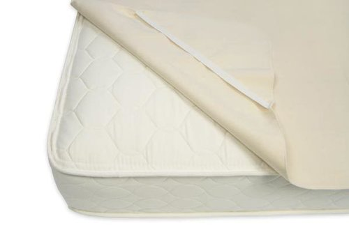 Naturepedic Naturepedic Organic Cotton Waterproof Protector Pad - Twin with Straps