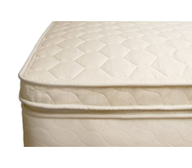 """Naturepedic Organic Cotton Queen Size 3"""" Comfort Toppers"""