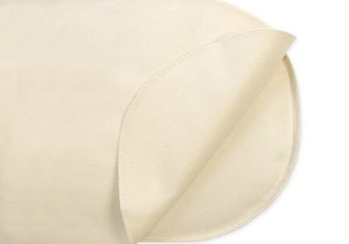 Naturepedic Naturepedic Organic Cotton Waterproof Protector Pad - Oval Bassinet Flat