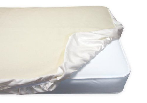 Naturepedic Naturepedic Non Waterproof Organic Cotton Flannel Pad - Crib Fitted