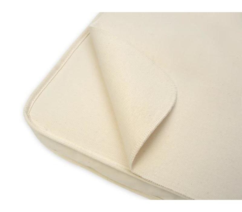 Naturepedic Organic Cotton Waterproof Protector Pad - Cradle Flat