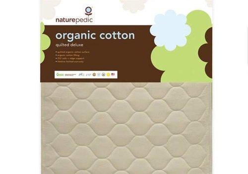 Naturepedic Naturepedic Crib Mattress Quilted Organic Cotton Deluxe 252 Coils